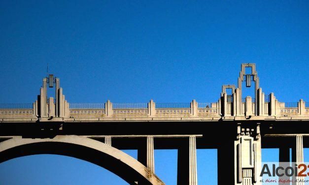 Guanyar Alcoi apunta a la carbonatació com a problema estructural del pont de Sant Jordi