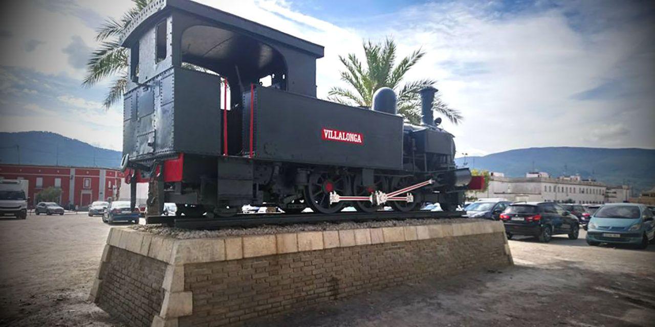 """La """"Màquina del Tren"""" tindrà il.luminació i ajardinament al voltant"""