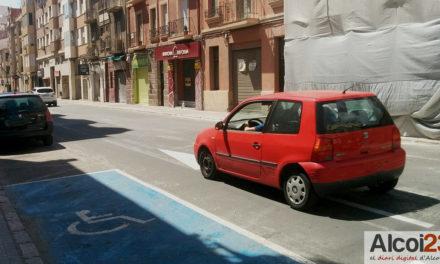 Compromís Alcoi proposa una APP que identifique aparcaments per a persones amb mobilitat reduïda