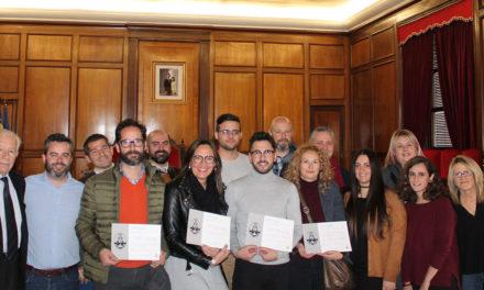 Es lliuren els premis del concurs d'aparadorisme «Alcoi Ciutat del Nadal»