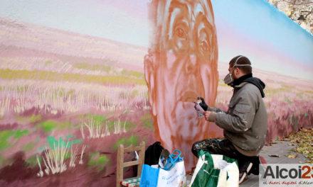 El graffiter 'Vincent' ens parla del seu mural homenatge a Joan Valls