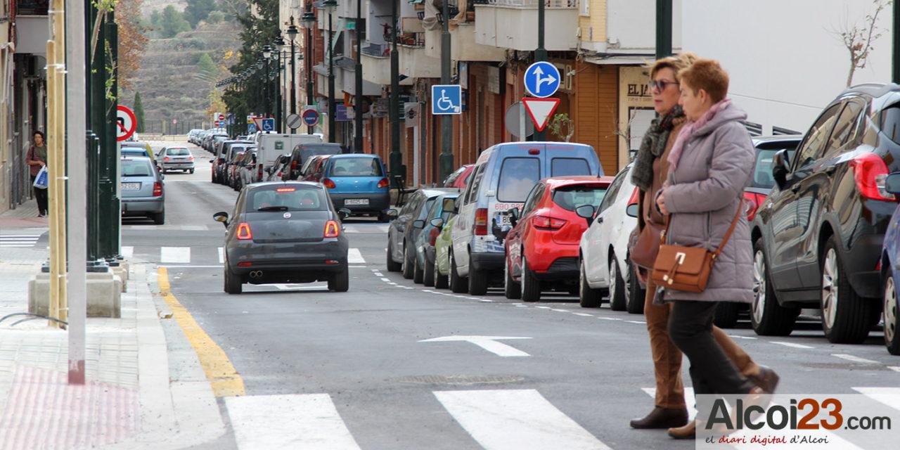 """Ciudadanos Alcoy demanda un semáforo para el cruce entre la calle Terrassa y Joan Gil Albert"""""""