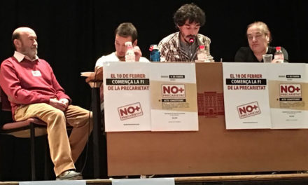 """No+Precarietat"" es presenta a Alcoi"