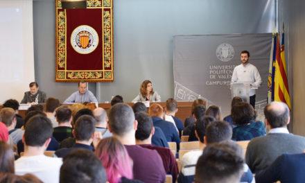 """Nerea Coloma, Tamara Seguí y Daniela  Baeza del IES Cotes Baixes ganadores del  """"ideaT  UPV Campus d'Alcoi-Àgora Emprenedors"""""""