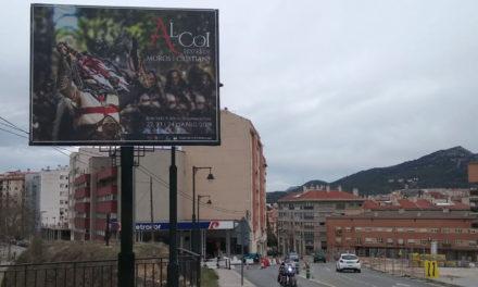 Un centenar de 'mupis' ja promocionen el Moros i Cristians d'Alcoi