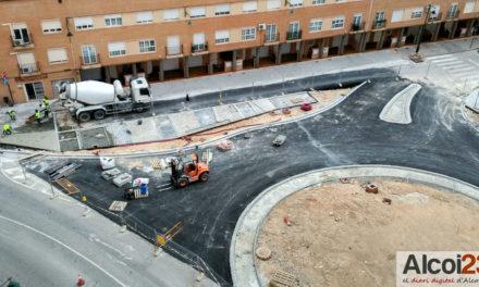 Nous canvis de trànsit per la construcció de la redona de 'El Collao'