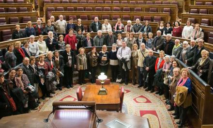 70 persones majors d'Alcoi visiten el Congrés de Madrid