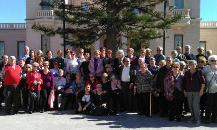70 majors alcoians visiten el MARQ d'Alacant