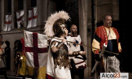 VIDEO 360º | Alcoi homenatja a Sant Jordi