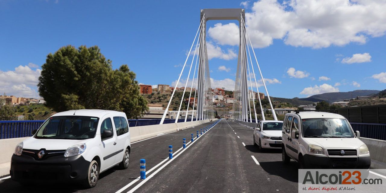 El dilluns s'obrirà al trànsit el pont Fernando Reig