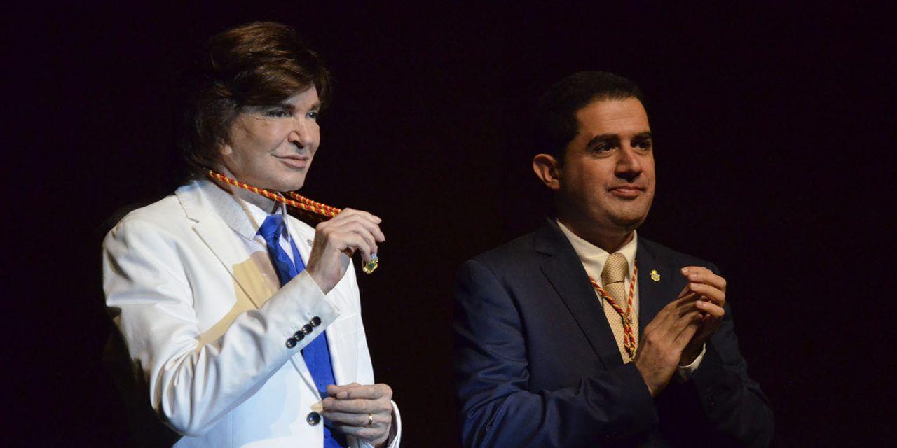 Alcoi recollirà el Premi Ondas a Camilo Sesto