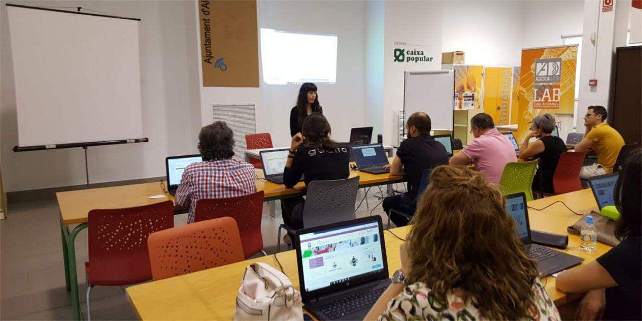 Formació digital per als comerciants d'Alcoi
