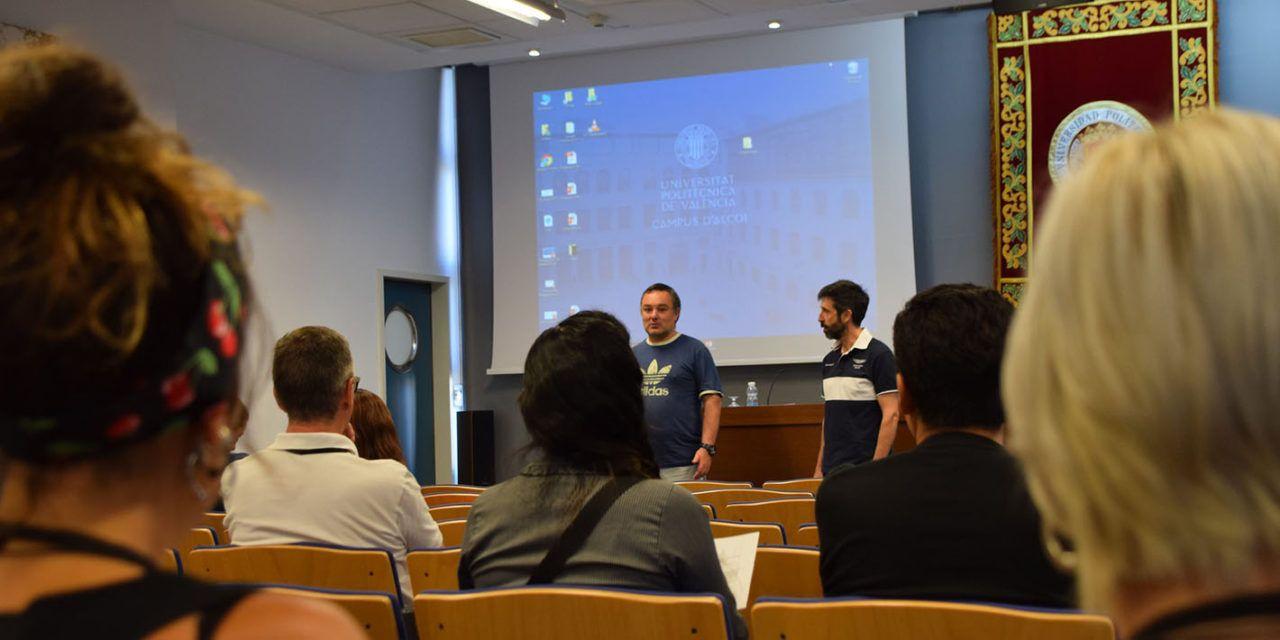 'Creando Sinergias': el congreso del Campus de Alcoy en que profesores comparten las investigaciones con sus compañeros