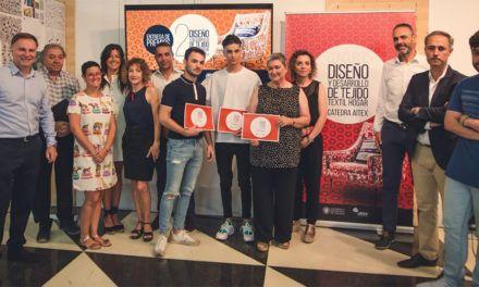 Más de 30 estudiantes del Campus de Alcoy han participado en la Segunda edición del Concurso de diseño y desarrollo de tejido para el textil hogar