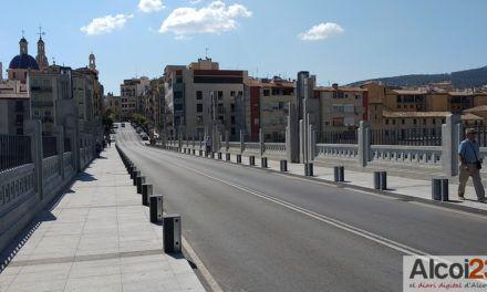 Guanyar Alcoi recorda que l'any passat ja va assenyalar com a problema estructural del pont de Sant Jordi a la carbonatació