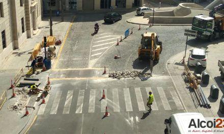 Finalitzades les obres d''accessibilitat de la Plaça d'Espanya