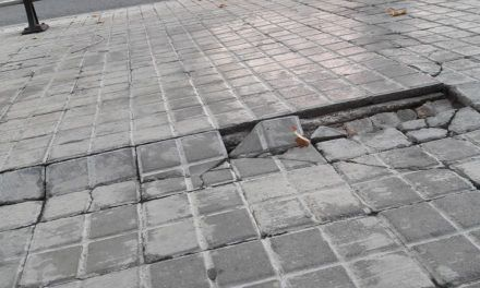 """Cs Alcoy denuncia el deterioro de las calles y exige al equipo de Gobierno """"más eficacia en el mantenimiento general de la ciudad"""""""