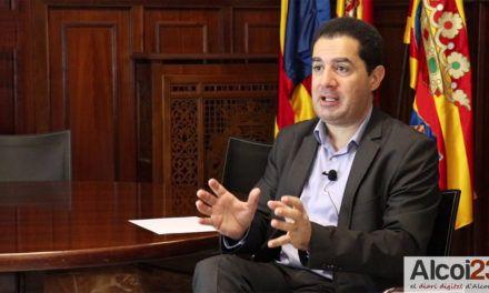 VÍDEO | Entrevista a l'alcalde d'Alcoi, Toni Francés