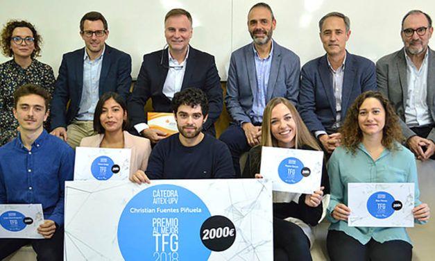 Entregados los premios de la Cátedra AITEX-UPV