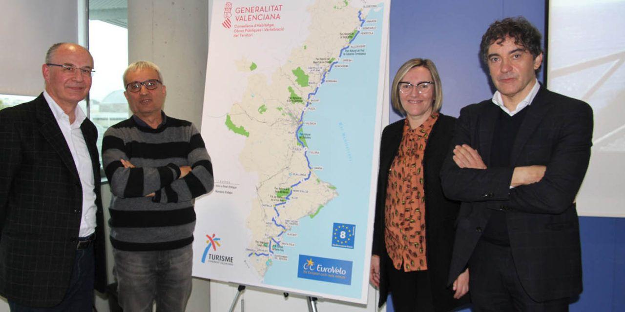 El itinerario cicloturístico europeo 'Eurovelo' tendrá paso por Alcoy