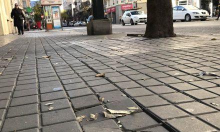 El PP urge a la reparación de las aceras de L'Alameda Camilo Sesto