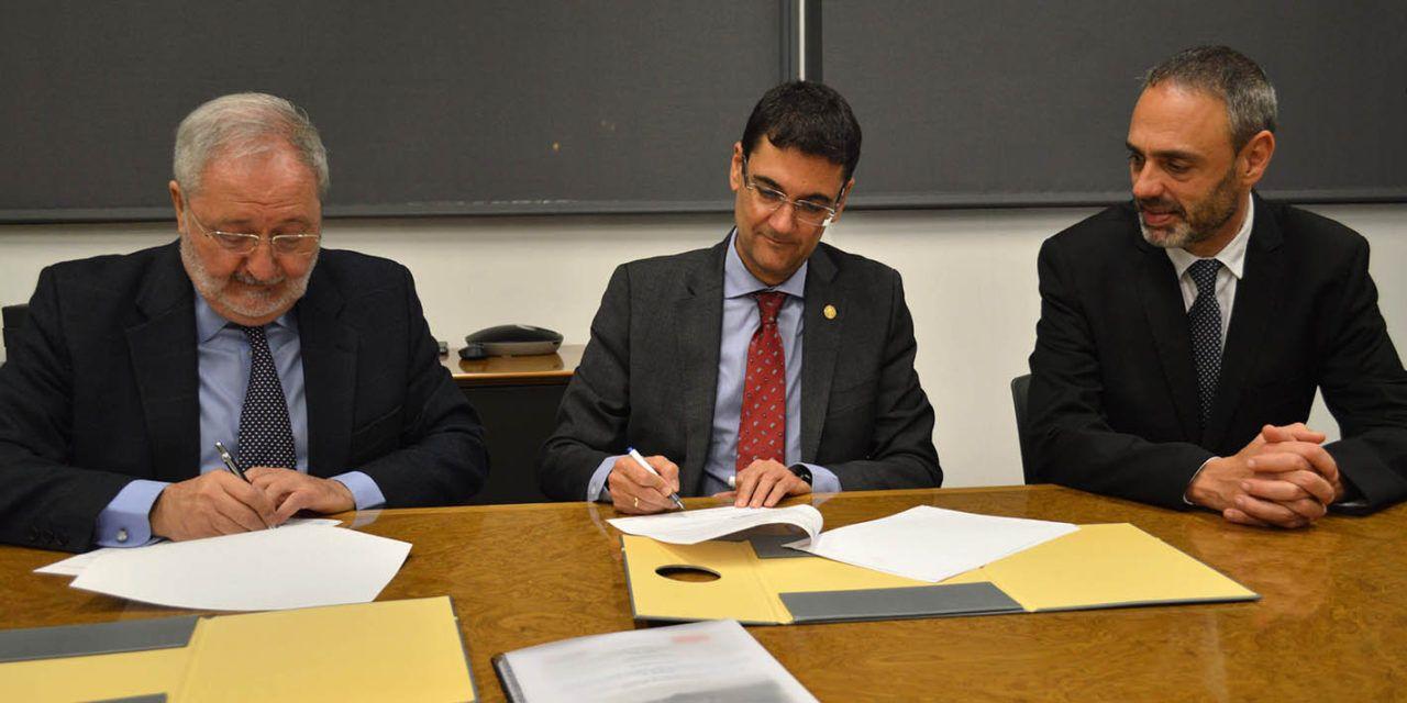 UPV y LHIA firman un convenio para la puesta en valor del patrimonio histórico industrial de Alcoy