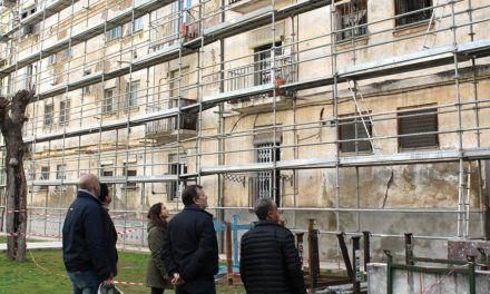 Les obres del Grup Sant Jordi podrien acabar en poc més d'un mes