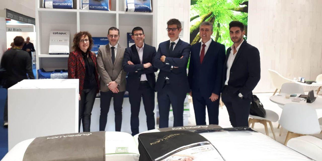 Rafa Climent visita la Fira Heimtextil a Frankfurt