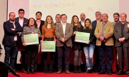 La Mancomunitat premia a les millors empreses i projectes emprenedors de l'Alcoià i el Comtat