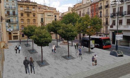 La reurbanització de Sant Francesc arribarà fins a la plaça de Ramón y Cajal