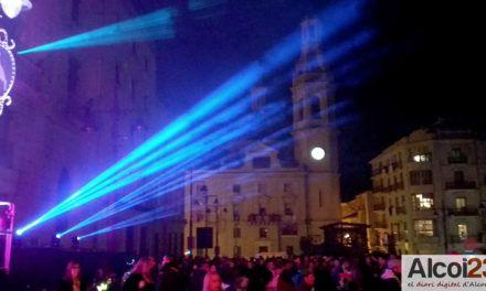 Espectáculo de luz y sonido para abrir el año en Alcoy