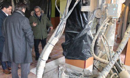 La reparació del talús del riu Barxell es farà en dues fases