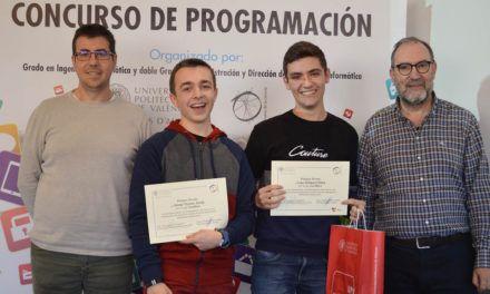 El IES Serra Mariola, primer premio en el Concurso Appinventor Modalidad B del Campus de Alcoy de la UPV