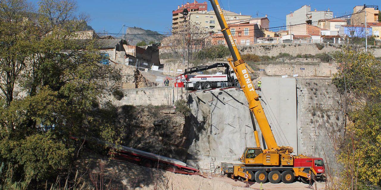 L'asseguradora pagarà les obres del mur del carrer Calderón