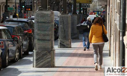 Cs Alcoi proposa la substitució dels fanals del carrer Sant Llorens per braços de llum