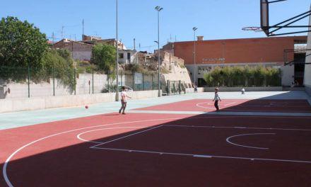Finalitzades les obres de la zona esportiva de la Zona Alta