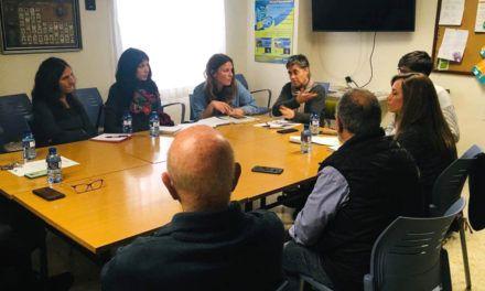 Unidas Podemos se reúne con la Asociación de Personas Sordas de Alcoi y Comarca