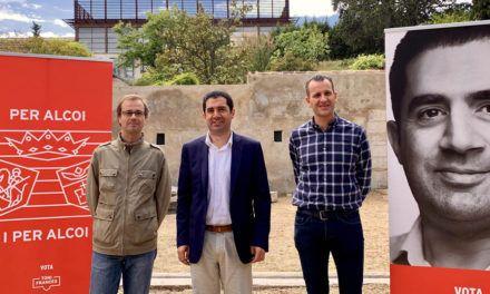 Toni Francés apuesta por la ampliación del Campus de Alcoy de la UPV y el Conservatorio
