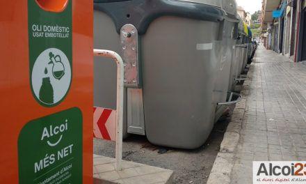 Nous contenidors d'oli a la ciutat