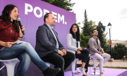 Podem realitza l'Acte Central de Campanya a Alcoi amb el suport de les diputades d'Unidas Podemos
