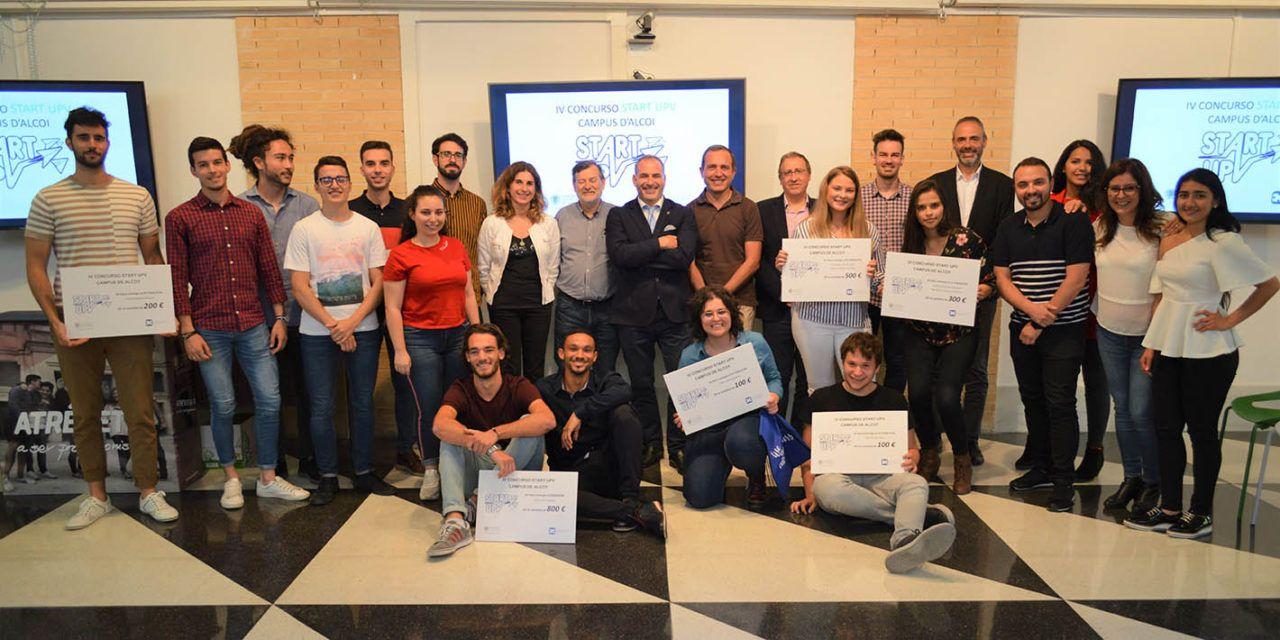 Denis Felst ganador del IV Concurso Start UPV Campus d'Alcoi