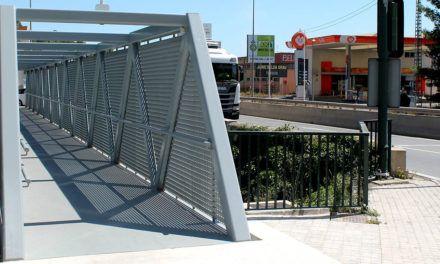 Bona acollida de la nova passarel·la per a vianants i ciclistes que uneix Alcoi i Cocentaina