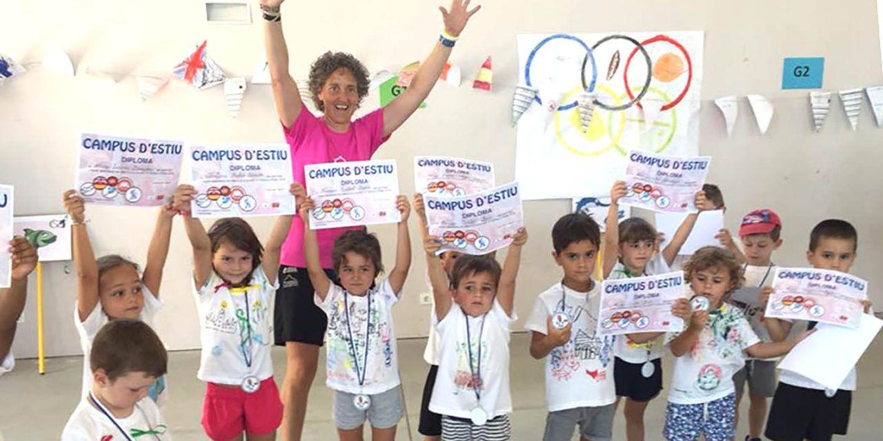 105 xiquetes i xiquets participaran en el Campus d'Estiu Eduardo Latorre