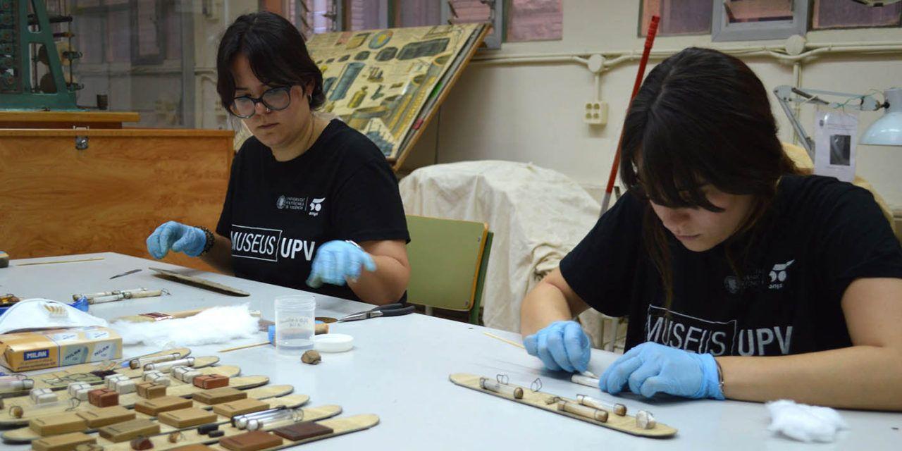 La UPV restaura el material didáctico antiguo del edificio del Viaducto como paso previo a la creación de un museo