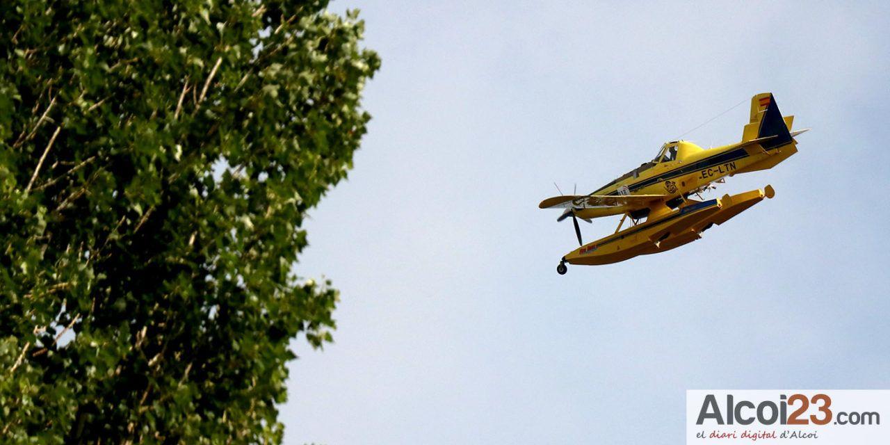 Cs Alcoy se interesa por las posibles ubicaciones provisionales para los bomberos forestales durante este verano