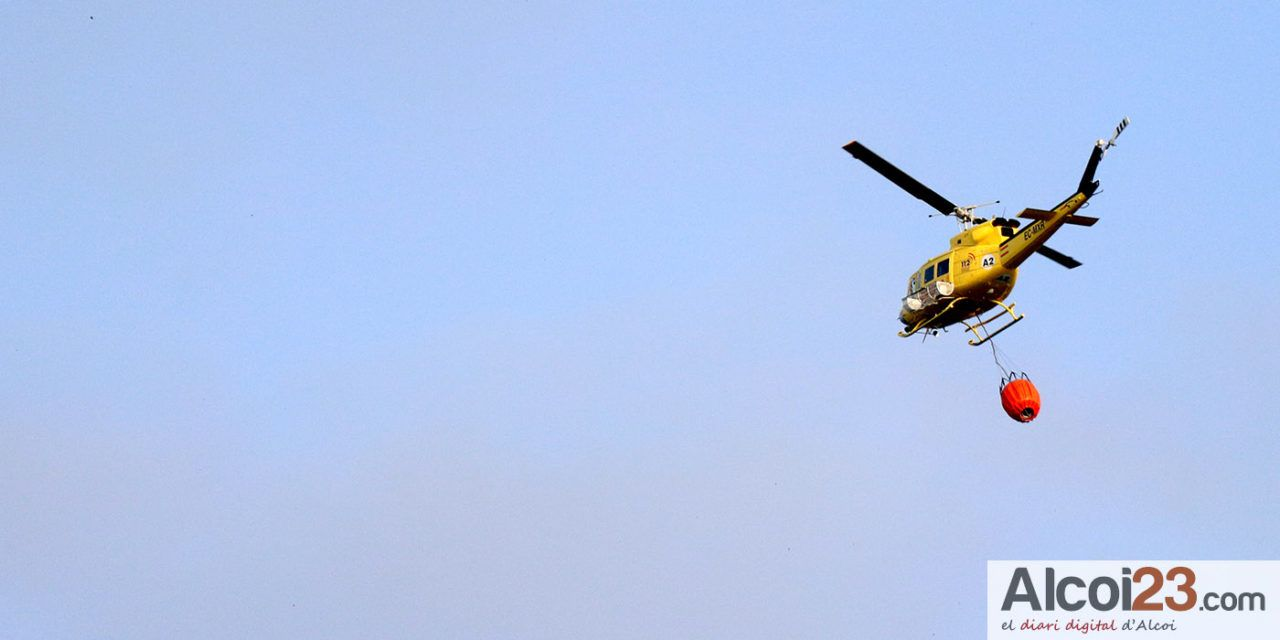 Emergencias actualiza los protocolos operativos y de coordinación de medios aéreos del Plan Especial contra Incendios Forestales