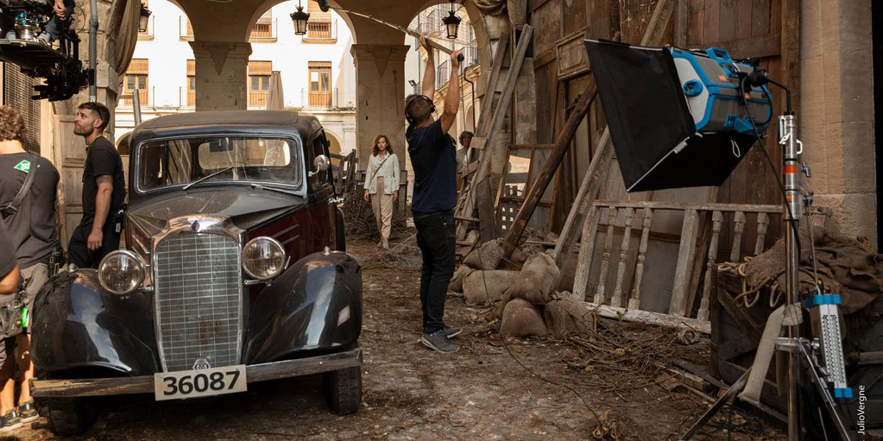 Alcoi acoge el rodaje de 'Dime quien soy', la nueva serie de Movistar+