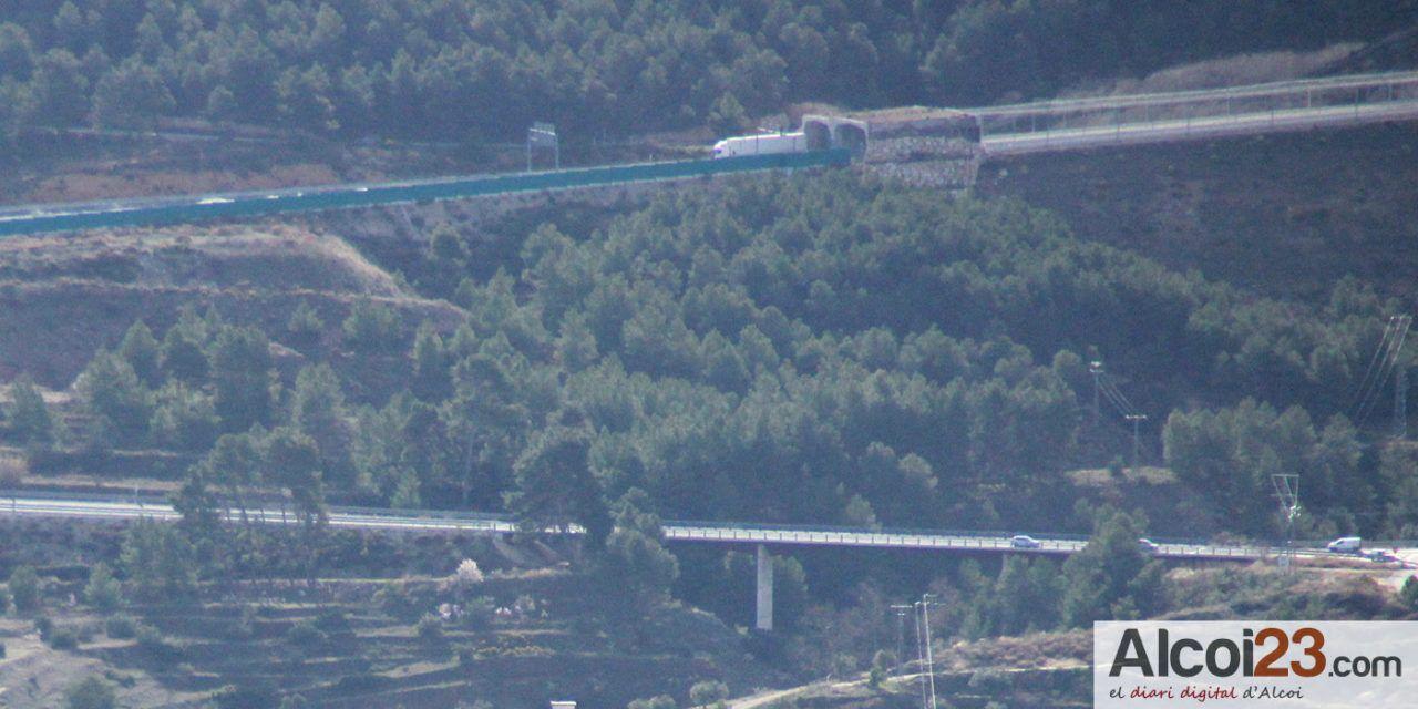 El PP sol·licita il·luminació per a l'entrada sud d'Alcoi des de l'autovia A-7