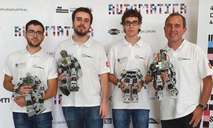 Éxito del Campus de Alcoi de la UPV en el Concurso Nacional de Robots Humanoides