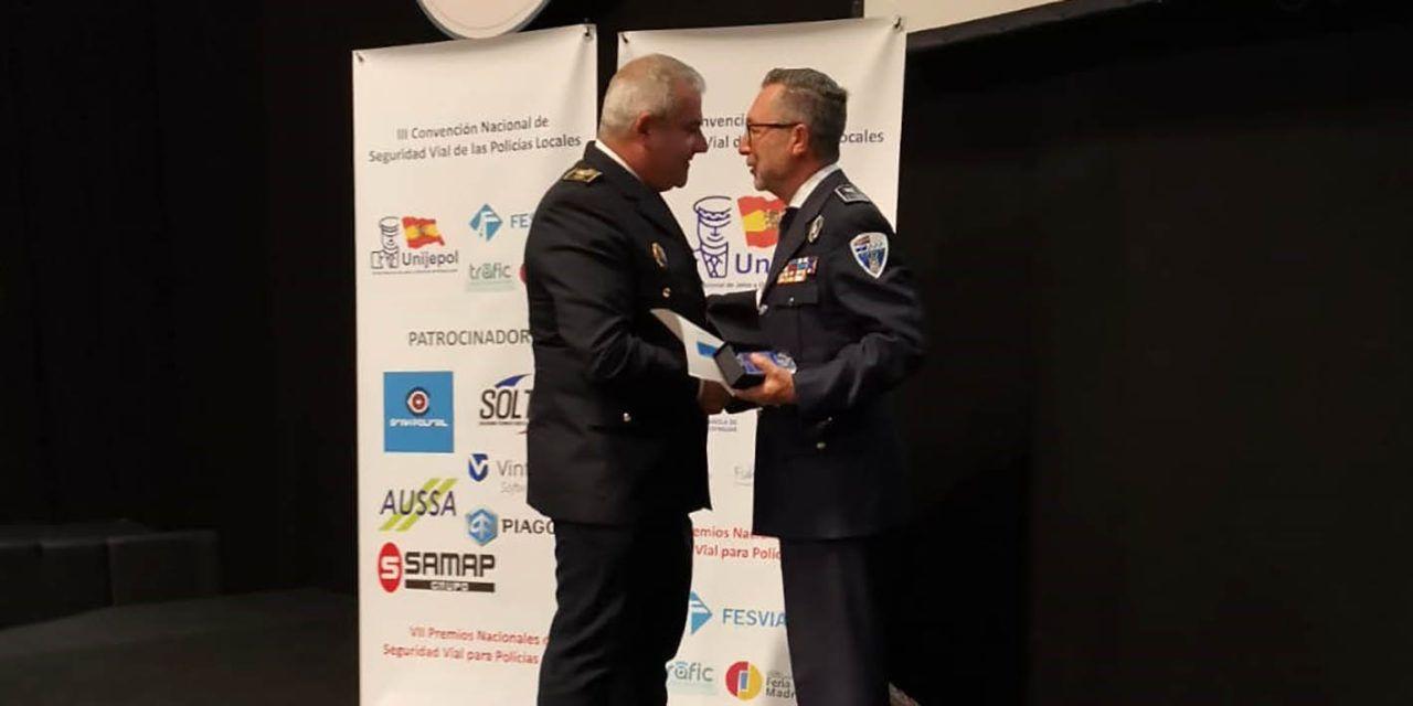 Premi Nacional a les Bones Pràctiques en Seguretat Viària per a la Policia Local d'Alcoi